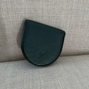 Louis Vuitton Taiga Porte MonCuvette Coin Purse